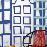 Grachtenpandjes behang van Perron 11