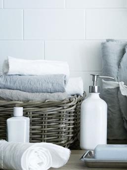 handdoeken mand