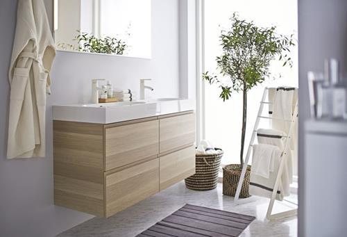Badkamer Onderkast Hout : Houten onderkast badkamer u devolonter