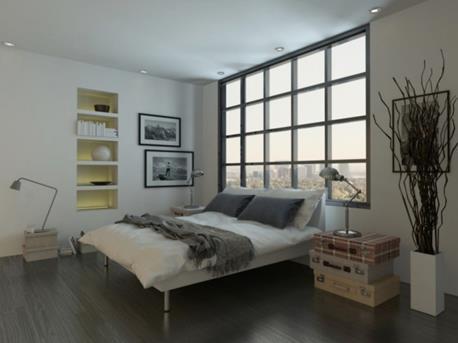 Industrieel Interieur Ideeen: Industriële slaapkamer ideeën huis ...