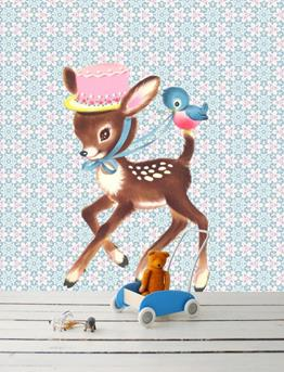 muursticker bambi