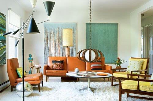 Tips Retro Kleuren : Interieur inspiratie retro is terug van weg geweest interieur