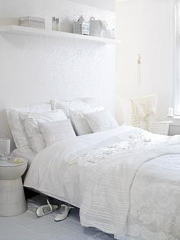 Interieur inspiratie romantische slaapkamer maken interieur inspiratie - Witte muur kamer ...