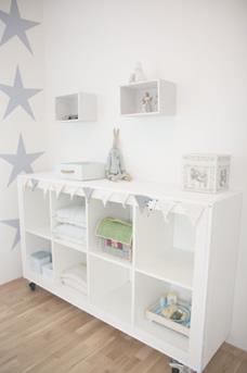 sterren babykamer