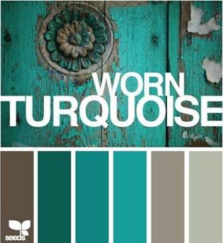 tuquoise kleuren