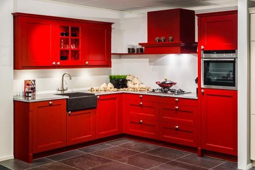 Rode Slaapkamer Accessoires : Interieur inspiratie een rode keuken interieur inspiratie