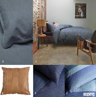 Interieur Inspiratie Een kleurrijke slaapkamer met de ...