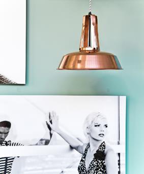Fonq koperen hanglamp