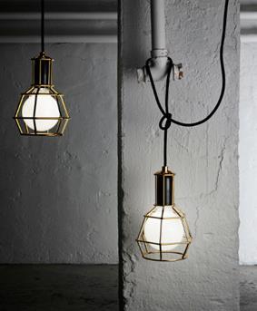 Fonq gouden hanglamp
