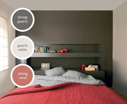 interieur inspiratie welke kleur gebruiken in de slaapkamer? rood, Meubels Ideeën