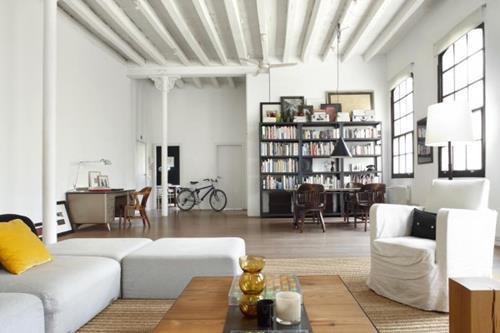 Woonkamer Design: Kleine woonkamer hoekbank inrichten van een ...