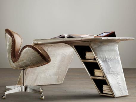 restoration-hardware-aviator-wing-desk-and-devon-spitfire-leather-chair1