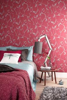 interieur inspiratie welke kleur gebruiken in de slaapkamer? rood, Deco ideeën