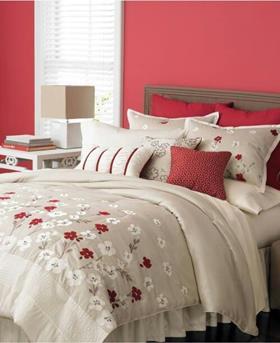Interieur Inspiratie Welke kleur gebruiken in de slaapkamer? Rood ...