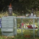 Avontuurlijk buiten koken op het FRIDAEL houtgasfornuis