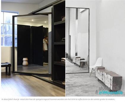 Spiegel Woonkamer Wanddecoratie