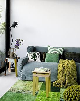 Interieur Inspiratie Natuurlijk groen wonen - Interieur Inspiratie