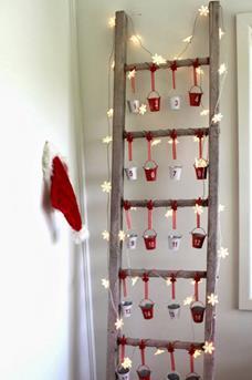 ladder kerst