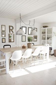 Interieur Inspiratie Twee lampen boven de eettafel - Interieur ...