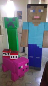 mincraft surprise