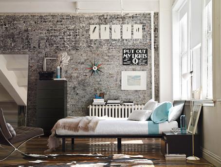 modern-bedroom barcelona stoel
