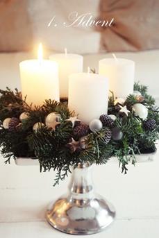 kerststukje maken advent