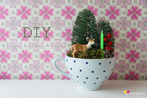 kerstkopje maken