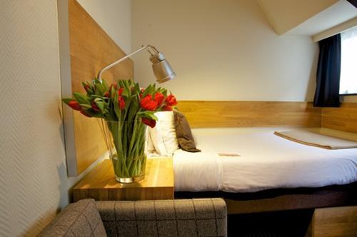 slaapkamer hotel vondel