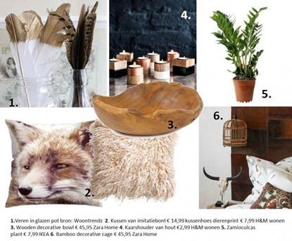 hout woonaccessoires