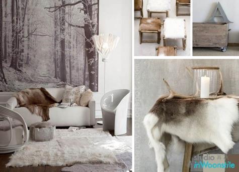 Hout In Woonkamer : Donker hout woonkamer twee fauteuils poster u stockfoto
