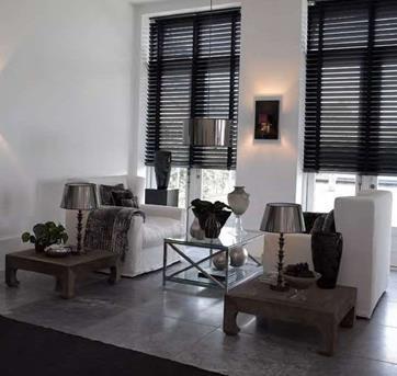 Interieur inspiratie zwart wit wonen interieur inspiratie - Deco grote woonkamer ...