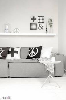 Interieur Inspiratie Zwart wit wonen - Interieur Inspiratie