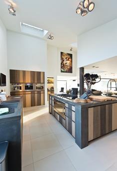 woonkeuken landelijk modern