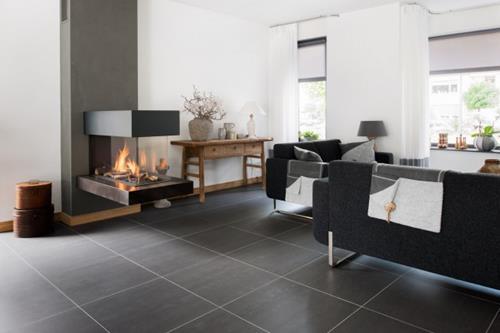 Interieur inspiratie een designvloer van keramiek interieur inspiratie - Keramische inrichting badkamer ...