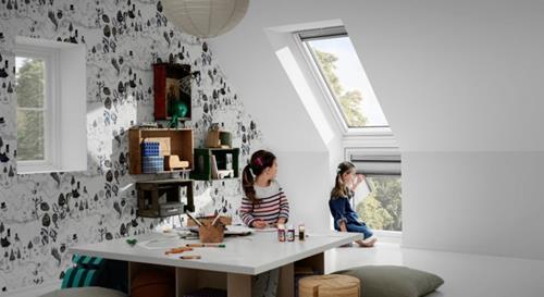 Kinderkamers Op Zolder : Deze zolder is een droom kinderkamer geworden homease