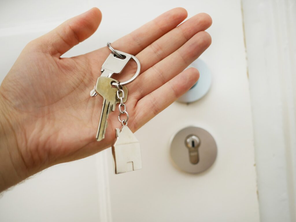 sleutels opbergen