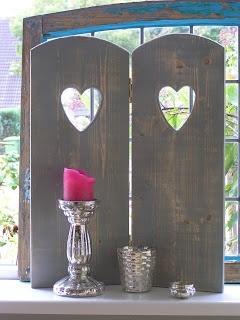 Interieur inspiratie wat te maken met restjes steigerhout for Houten decoratie voor raam