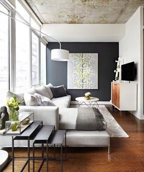 Interieur Inspiratie De donkere houten vloer - Interieur Inspiratie