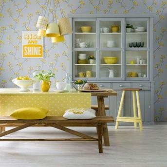 Interieur Inspiratie Tijd voor de lente, tijd voor een (geel ...