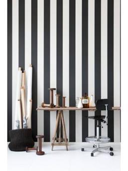 zwart wit behang