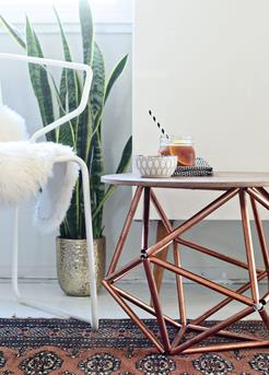 geometrische tafel zelf maken