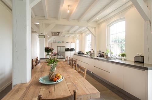 landelijke moderne keuken