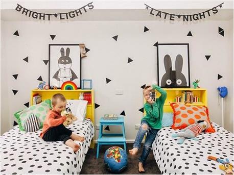 slaapkamer dots