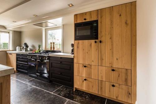 Keuken Eiken Houten : Interieur inspiratie keuken met eikenhouten fronten landelijke