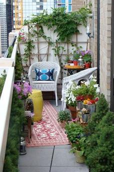 zitje balkon