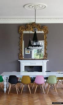 kleurrijke stoel