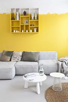 muur geel