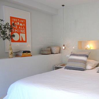 slaapkamer oranje