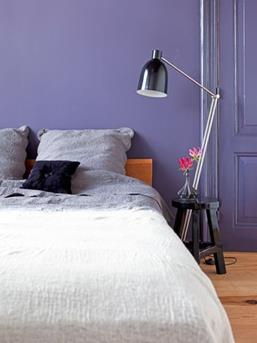 slaapkamer paars
