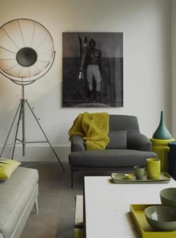 grijs interieur